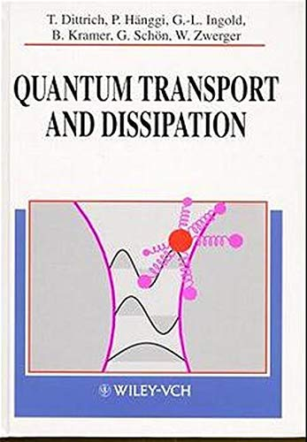 9783527292615: Quantum Transport and Dissipation