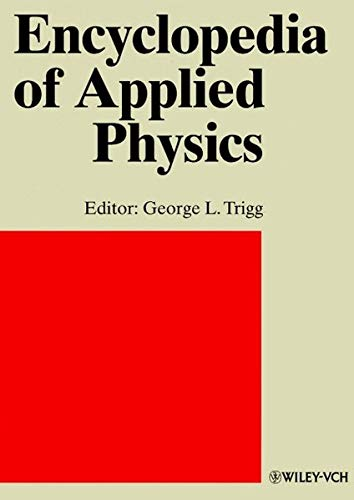 9783527293056: Encyclopedia of Applied Physics, Index for Vols. 1-23