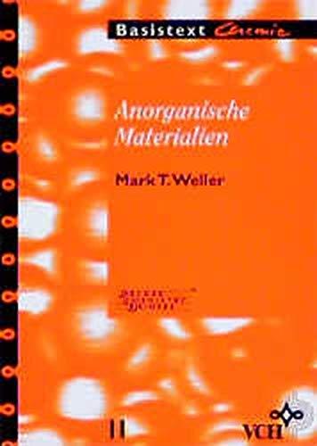9783527293995: Anorganische Materialien Basistexte Chemie V 11