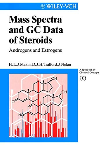 9783527296446: Mass Spectra and GC Data of Steroids: Androgens and Estrogens (Lopkowski/Ross: Frontiers in Electrochemistry)