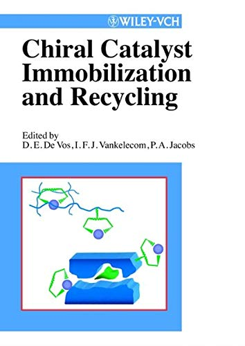 9783527299522: Chiral Catalyst Immobilization and Recycling (Wiley-Vch)