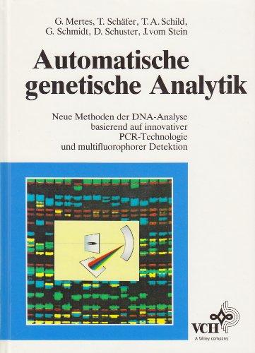 9783527300761: Automatische Genetische Analytik