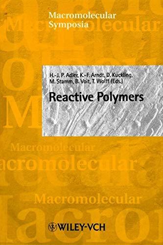 Reactive Polymers. Macromolecular Symposia, 164: Hans-Jurgen P. Adler,
