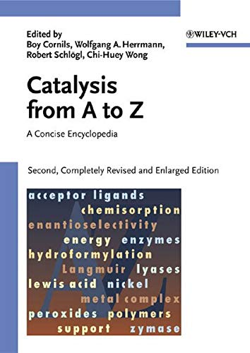 9783527303731: Catalysis from A to Z: A Concise Encyclopedia