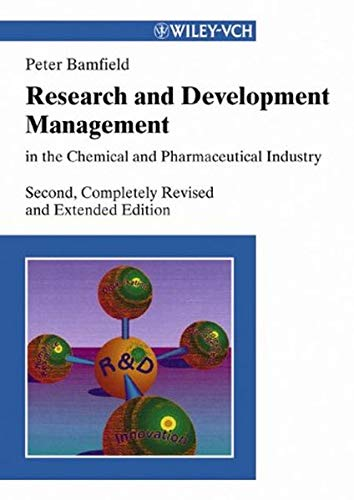 9783527306671: Research and Development Management in the Chemical and Pharmaceutical
