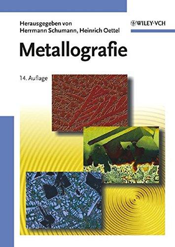 9783527306794: Metallographie