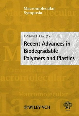Macromolecular Symposia, No. 197: Recent Advances in Biodegradable Polymers and Plastics: Wiley-VCH