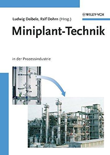 9783527307395: Miniplant-Technik: in der Prozessindustrie (German Edition)