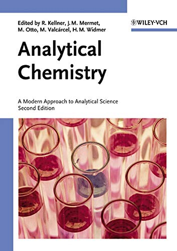 9783527307524: Analytical Chemistry 2e