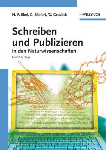 9783527308026: Schreiben und Publizieren in den Naturwissenschaften