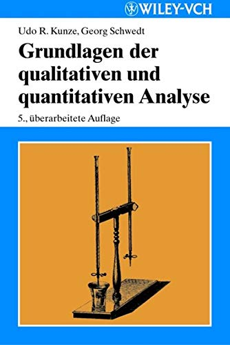 9783527308583: Grundlagen der qualitativen und quantitativen Analyse (German Edition)