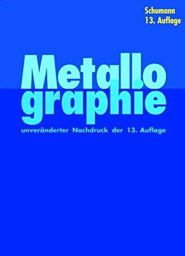 9783527309597: Metallographie (German Edition)