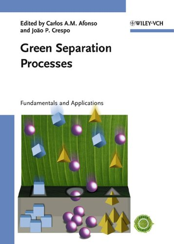 Green Separation Processes: Carlos A. M. Afonso