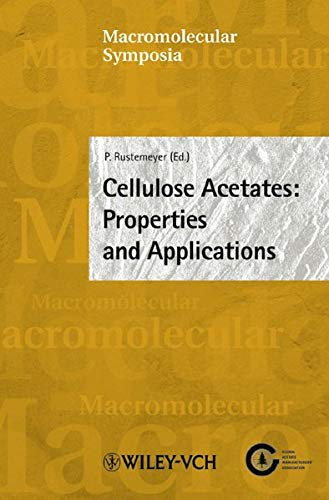9783527310418: Cellulose Acetates: Properties and Applications (Macromolecular Symposia)