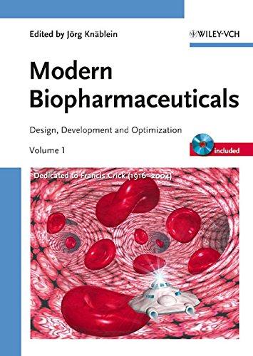 Modern Biopharmaceuticals: Design, Development and Optimization, 4 Volume Set: Knäblein, Jörg