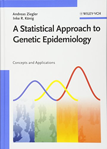 9783527312528: A Statistical Approach to Genetic Epidemiology: Concepts and Applications