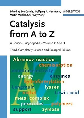 9783527314386: Catalysis from A to Z: A Concise Encyclopedia