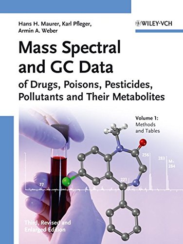 9783527315383: Mass Spectral and GC Data of Drugs, Poisons, Pesticides, Pollutants and Their Metabolites