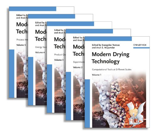 MODERN DRYING TECHNOLOGY - 5 VOLUME SET: EVANGELOS TSOTSAS, ARUN S. MUJUMDAR