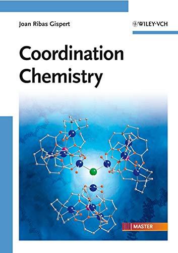 9783527318025: Coordination Chemistry