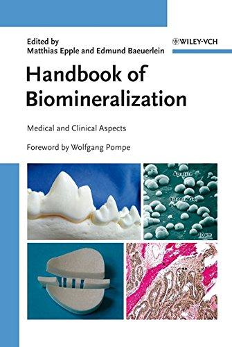 Handbook of Biomineralization 3: Matthias Epple