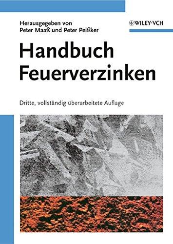 9783527318582: Handbuch Feuerverzinken (German Edition)