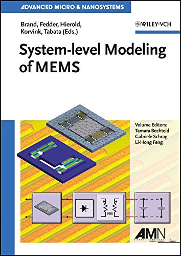 9783527319039: System-level Modeling of MEMS
