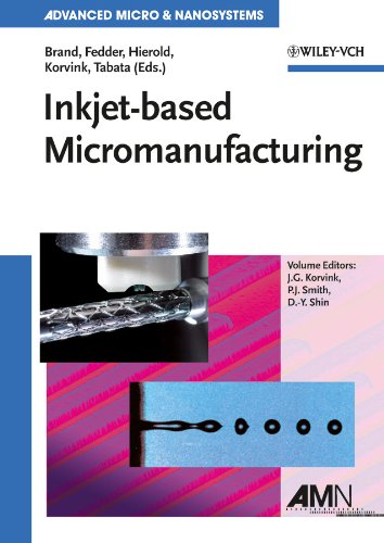 9783527319046: Inkjet-based Micromanufacturing: 9 (Advanced Micro and Nanosystems)