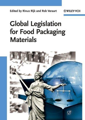 9783527319121: Global Legislation for Food Packaging Materials