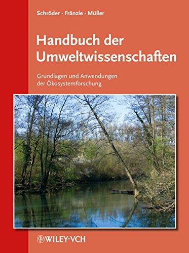 9783527321445: Handbuch Der Umweltwissenschaften: Grundlagen Und Anwendungen Der Okosystemforschung