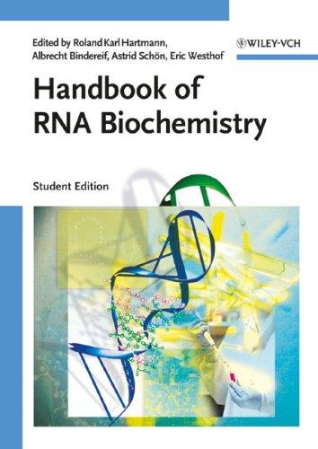 9783527325344: Handbook of RNA Biochemistry