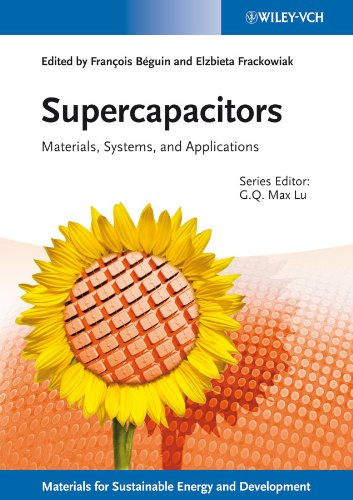 9783527328833: Supercapacitors: Materials, Systems, and Applications (New Materials for Sustainable Energy and Development)