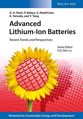 9783527328895: Advanced Lithium-Ion Batteries: Recent Trends and Perspectives (New Materials for Sustainable Energy and Development)
