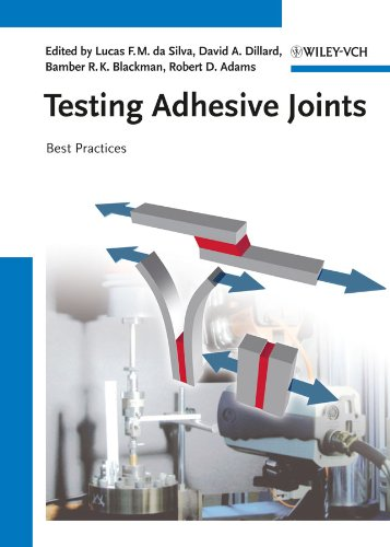 9783527329045: Testing Adhesive Joints: Best Practices