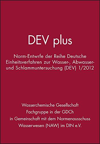 DEV plus: Wasserchemische Gesellschaft (Fachgruppe in der GDCh).
