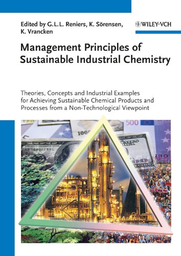 9783527330997: Management Principles of Sustainable Industrial Chemistry: Theories, Concepts and Indusstrial Examples for Achieving Sustainable Chemical Products and Processes from a Non-Technological Viewpoint