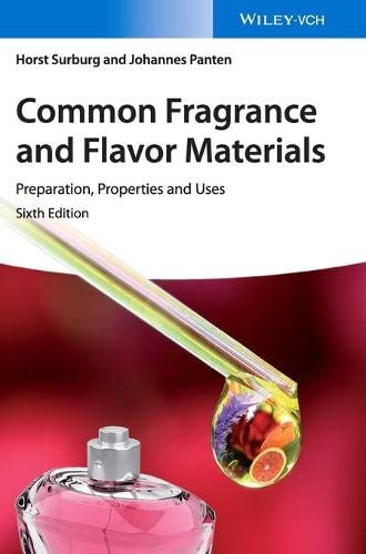 9783527331604: Common Fragrance and Flavor Materials: Preparation, Properties and Uses