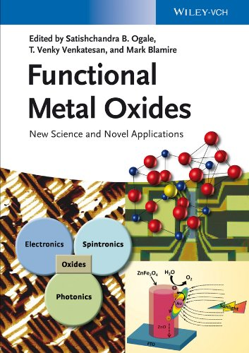 9783527331796: Functional Metal Oxides: New Science and Novel Applications