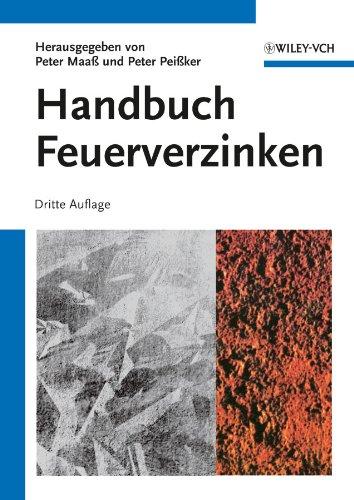 9783527332519: Handbuch Feuerverzinken (German Edition)