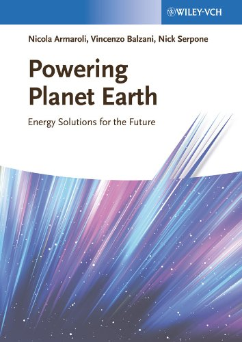 9783527334094: Powering Planet Earth: Energy Solutions for the Future
