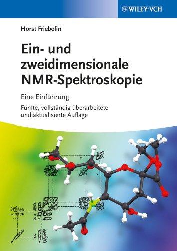 9783527334926: Ein- Und Zweidimensionale NMR-spektroskopie