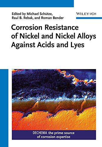 Corrosion Resistance of Nickel and Nickel Alloys: Michael Schütze