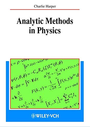 Analytic Methods in Physics