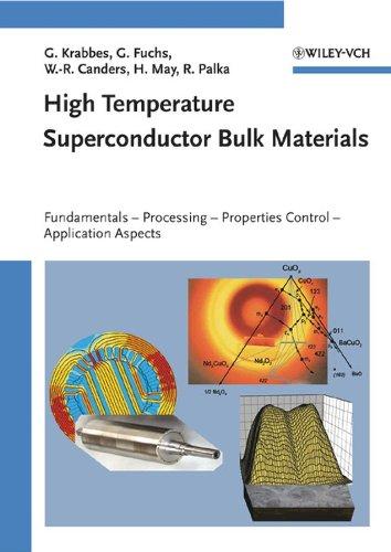 9783527403837: High Temperature Superconductor Bulk Materials: Fundamentals, Processing, Properties Control, Application Aspects