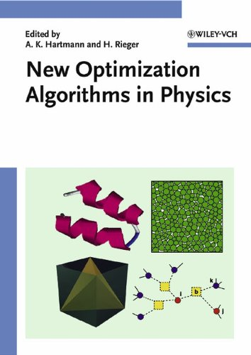 New Optimization Algorithms in Physics: Alexander K. Hartmann
