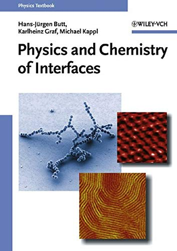 9783527404131: Physics and Chemistry of Interfaces