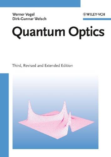 Quantum Optics 3E: Vogel