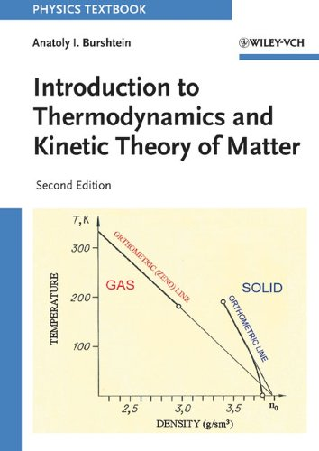 9783527405985: Introduction to Thermodynamics and Kinetic Theory of Matter (Physics Textbook)