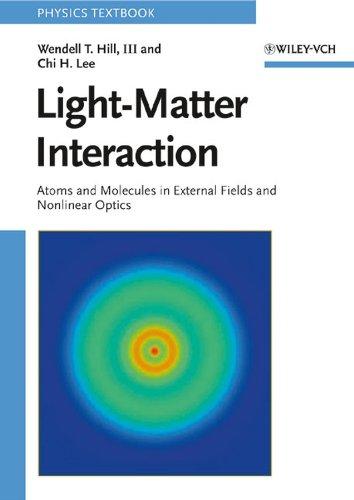 9783527406616: Light-Matter Interaction: Atoms and Molecules in External Fields and Nonlinear Optics