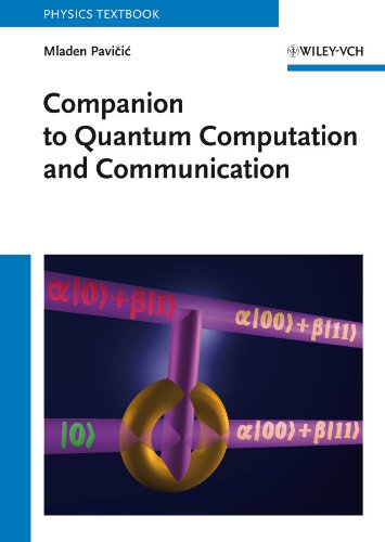 9783527408481: Companion to Quantum Computation and Communication (Physics Textbook)